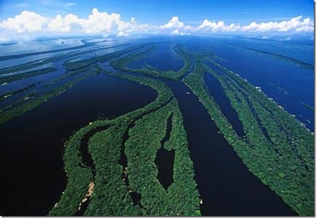 Река амазонка величайшая в