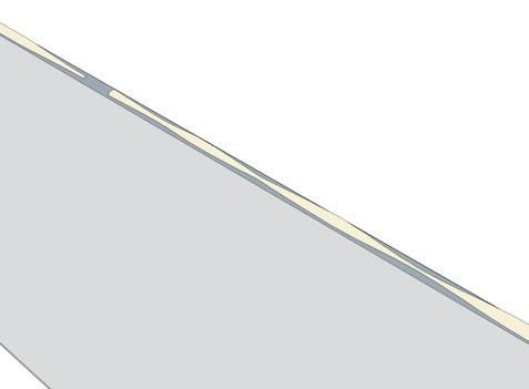 При нанесении герметика следите, чтобы не образовывалось полостей или утоньшений