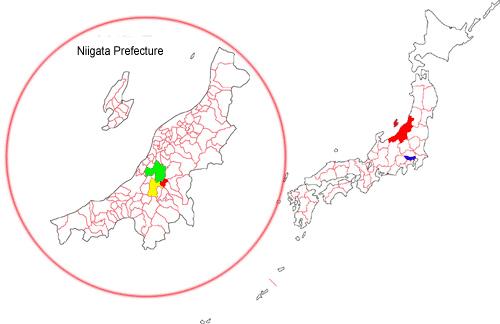 Рисунок с www.japan-nishikigoi.org Ниигата – провинция Японии и место появления первых пород карпов кои. В настоящее время провинция Ниигата является меккой для любителей кои